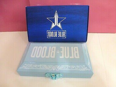 Jeffree Star BLUE BLOOD Eyeshadow 100% New in Box