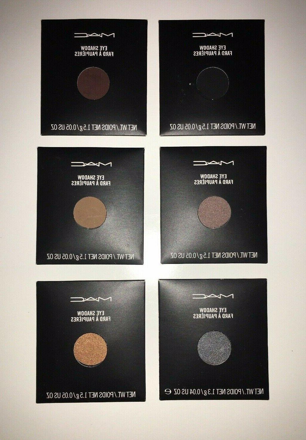 MAC Cosmetics Pro Palette Refill Pan- of 6- *Assorted NEW