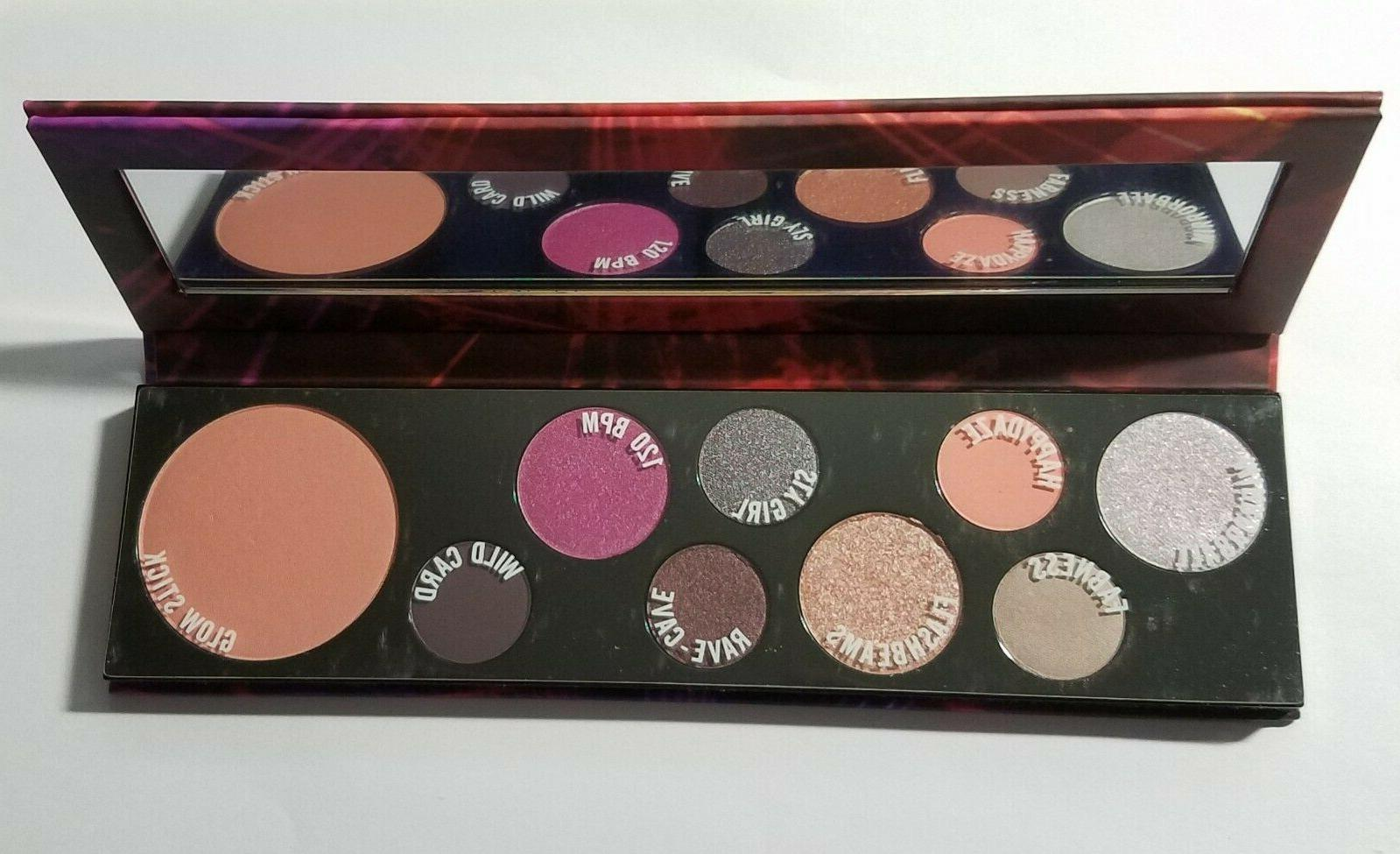 mac girls raver girl personality palette 8