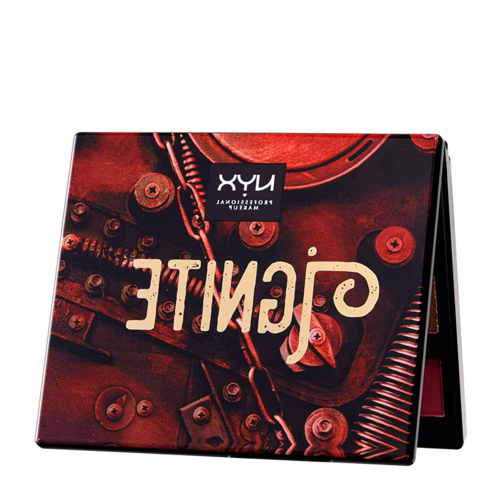 NYX Machinist Ignite Eyeshadow Palette Authentic Limited