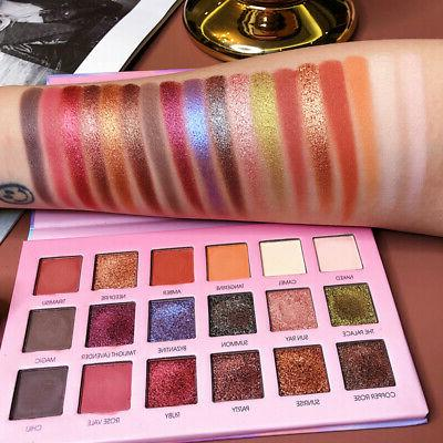 Magic Matte Pearlescent Glitter Eye Shadow 18Colors Pigment