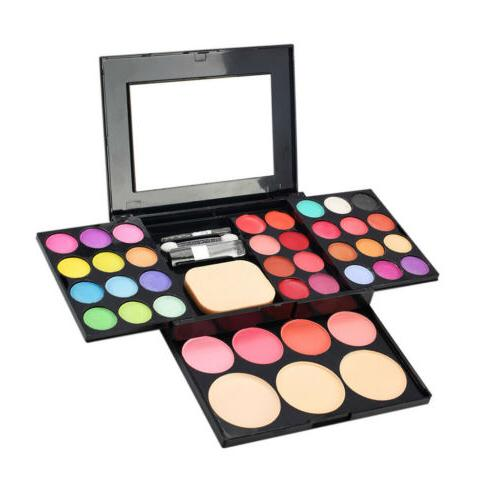 Magideal 39 Color Eyeshadow Palette Kit Powder Blush Cosmeti