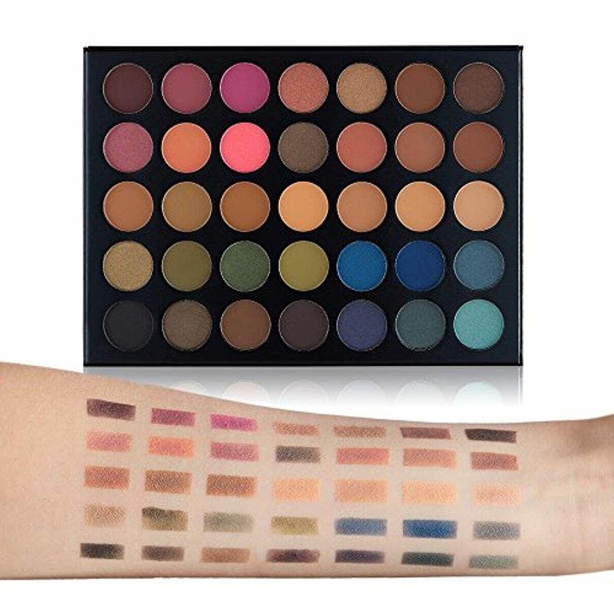 Beauty Glazed Eyeshadow 35 Colors Blendable Chunky Mat