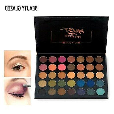 make up eyeshadow palette 35 colors blendable