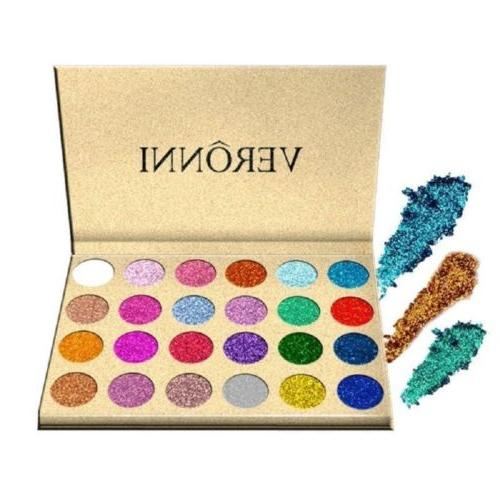 makeup cosmetic shimmer matte pressed glitter eyeshadow