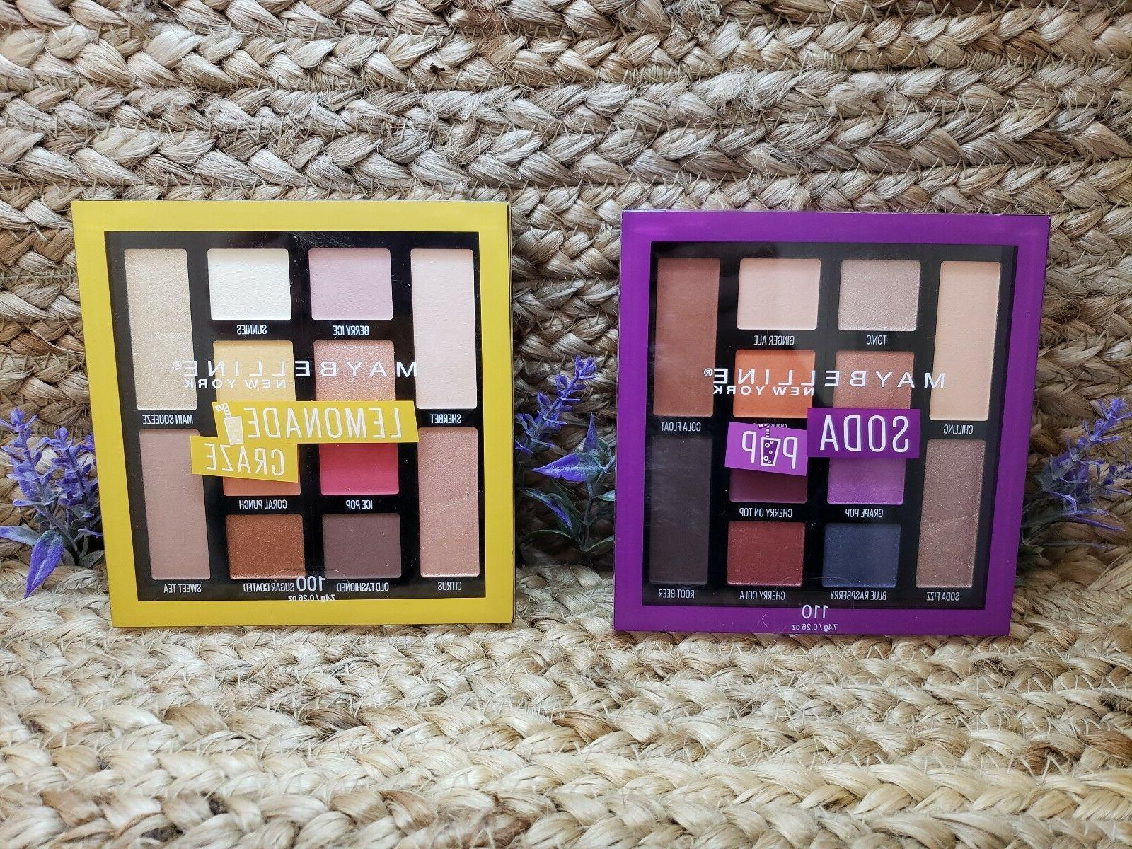 maybelline eyeshadow palette choice of palette