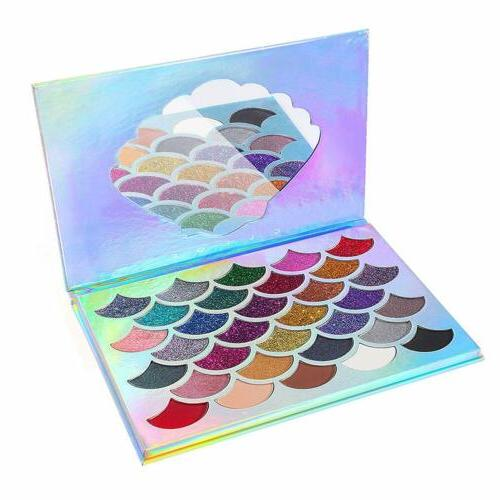Mermaid Glitter Eyeshadow 32 Colors Glitters