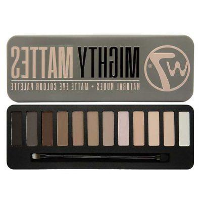 W7 COSMETICS Mighty Mattes Natural Nudes Matte Eyeshadow Col