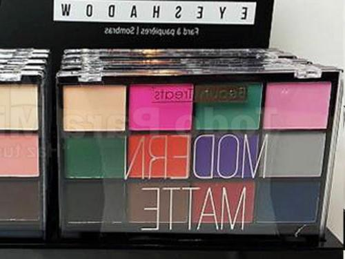 modern matte eye shadow palette 409m
