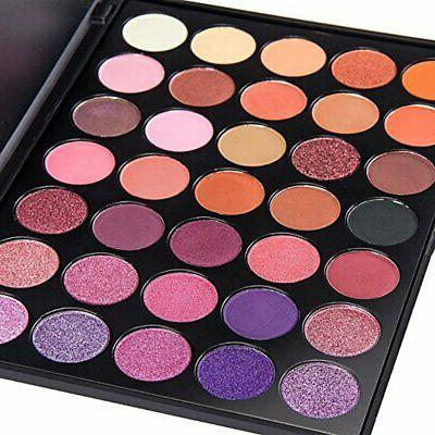 morphe eyeshadow makeup set eyeliner 35 color