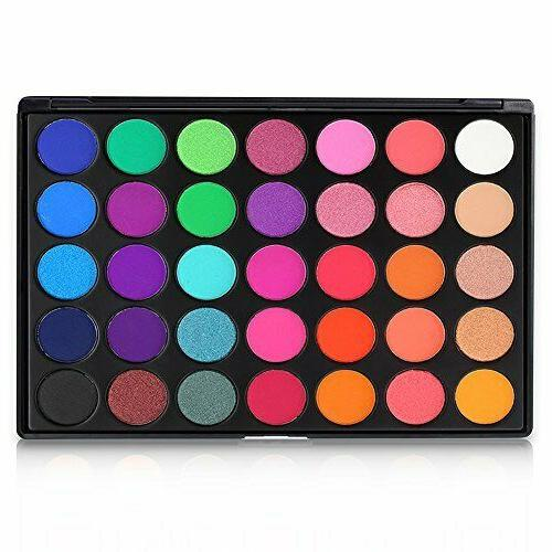 Eyeshadow Makeup Palette - GLAM High Pigmented 35E US