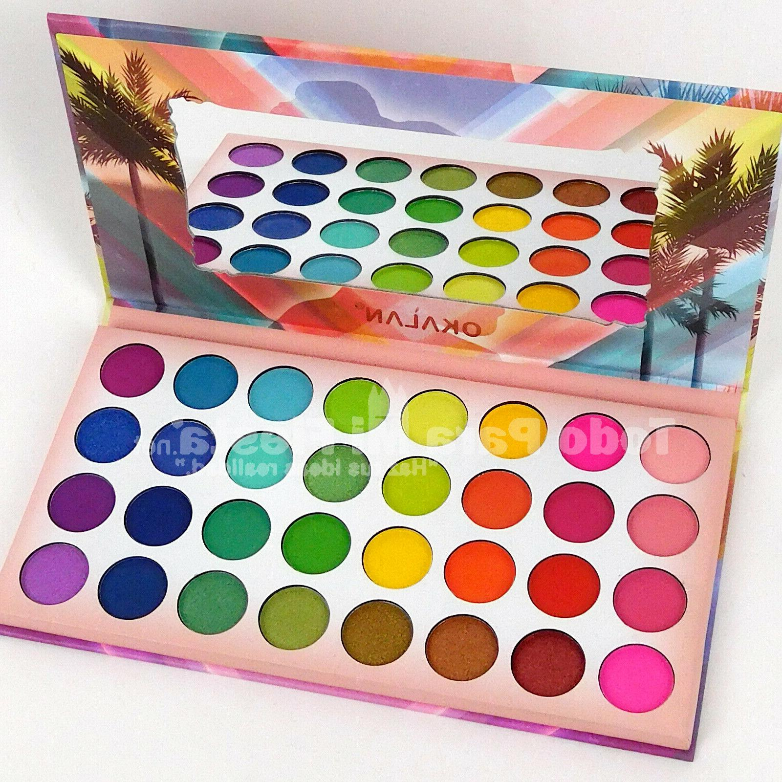mystical eyeshadow palette high pigmented saturated shades