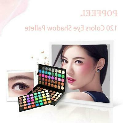 Pro 120 Eyeshadow Palette Shimmer Shadow