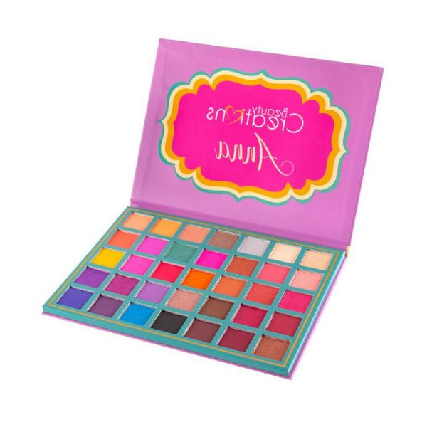 NEW ANNA Palette Beauty Pigmented Bold Colors