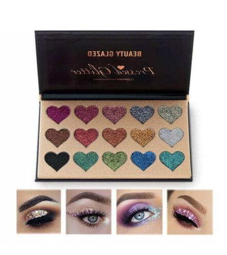 new beauty glazed palette ultra pigmented mineral