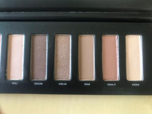 New! Studiomakeup Ease to Wear Eyeshadow Palette Browns Pinks 9 Shades Full Size