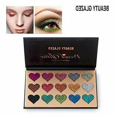 NEW Beauty Eyeshadow Palette Pigmented Mineral Pressed