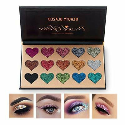 new eyeshadow palette ultra pigmented mineral pressed