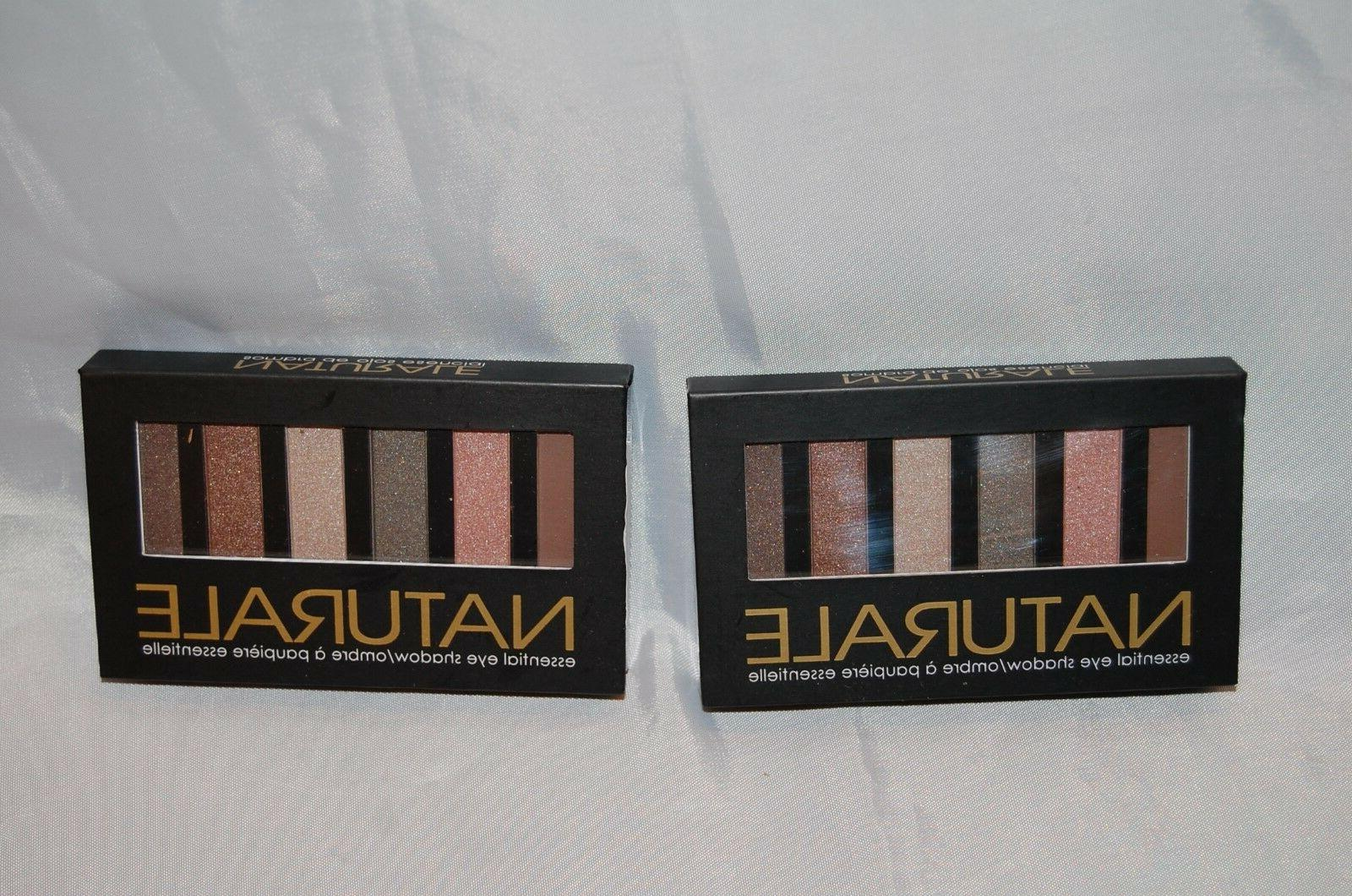 New of 2 Naturale Essential Eye Make-Up Palette