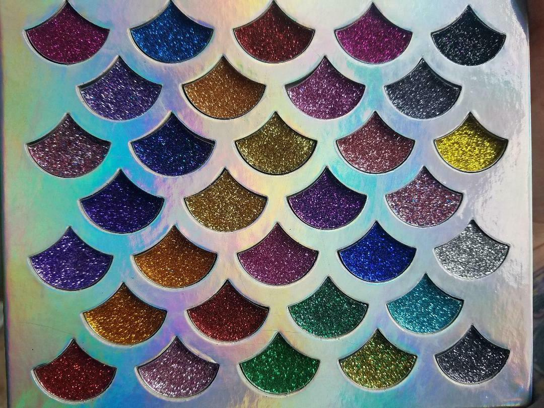 NEW GLITTER PALETTE COLORS