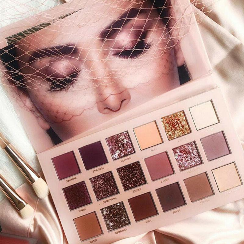 New Shimmer Eyeshadow Palette Shadows 18 Cosmetic