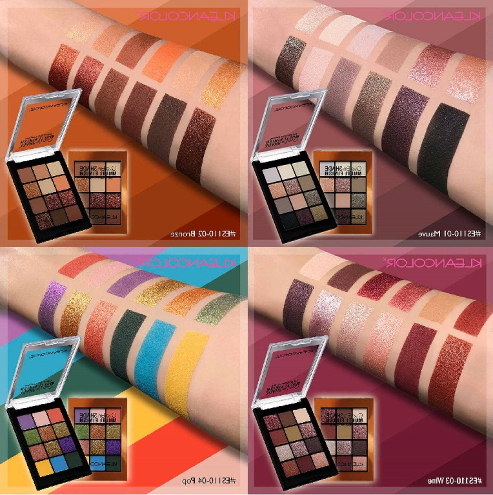 new pro colors makeup cosmetics palette shimmer