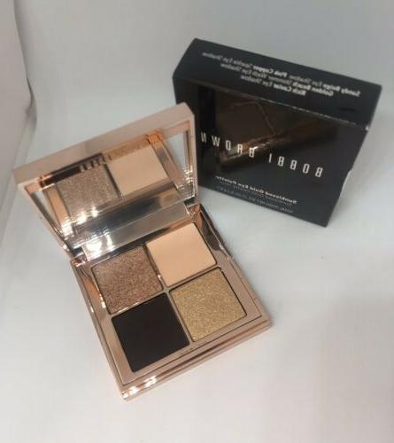 nib sunkissed gold eye shadow palette