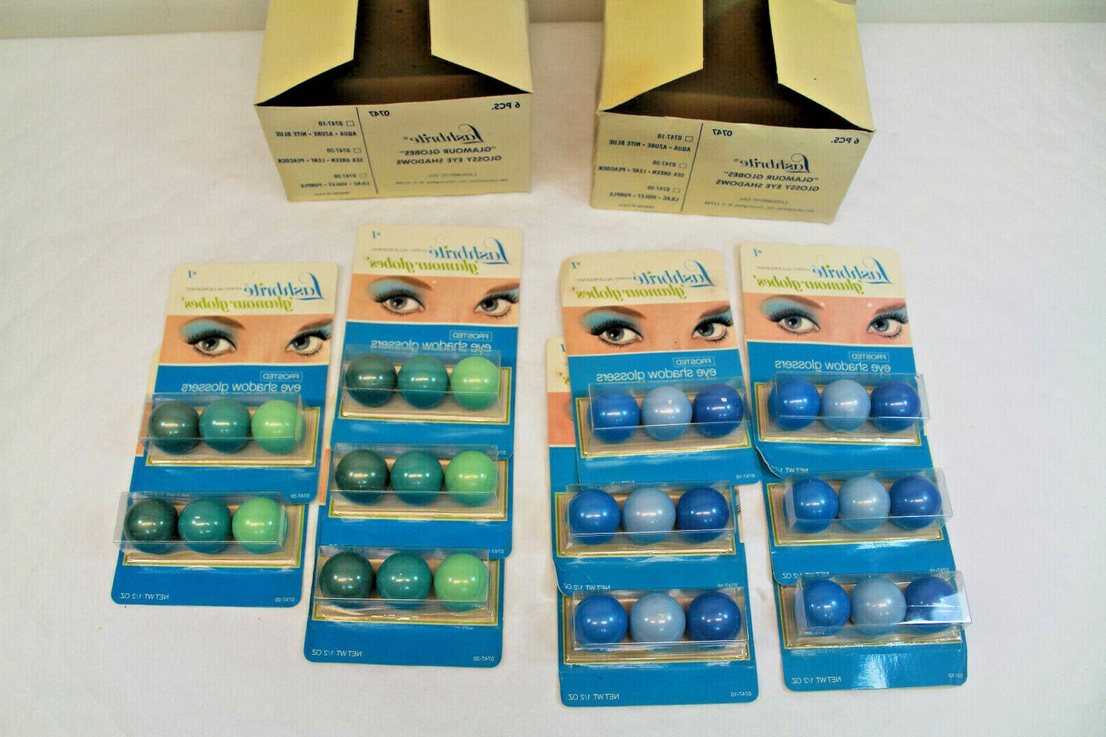NOS Vintage Glamour Globes Blue 11 Packages