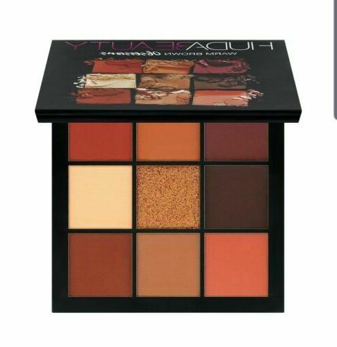 obsessions eyeshadow palette warm brown new