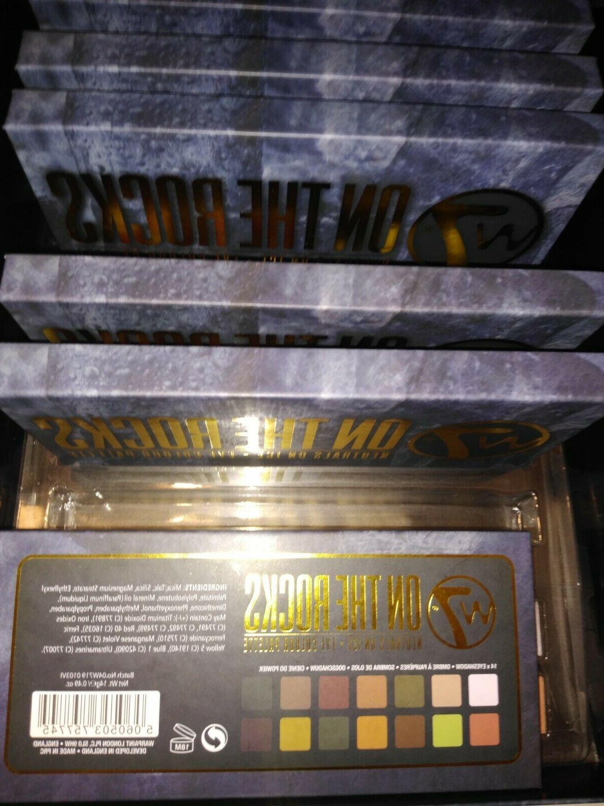 W7 eyeshadow palette with