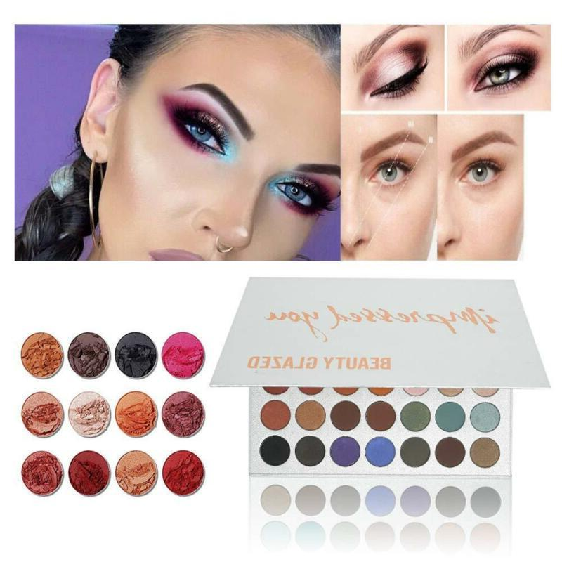 Beauty and 35 Colors Chunky Eyeshadow Palette
