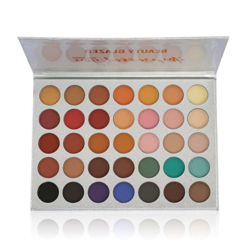 Beauty and 35 Colors Chunky Eyeshadow