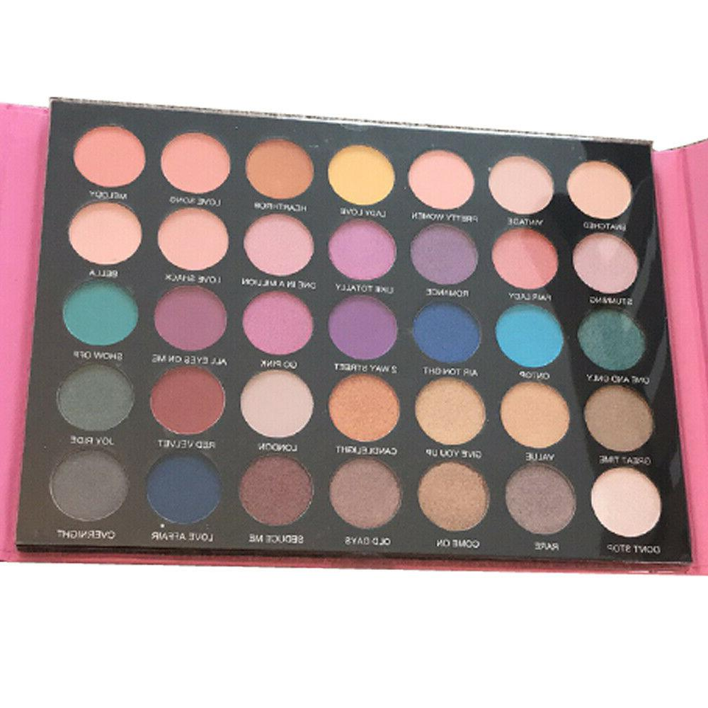 Prolux Pretty Pink Cosmetic Makeup 35 Colors