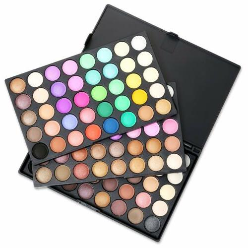 Pro 120 Colors Matte Shimmer Palette Cosmetic Kit