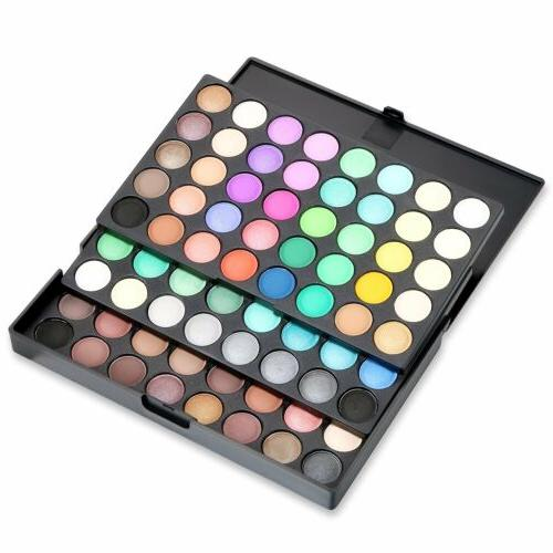 Pro Colors Matte Shimmer Eye Palette Cosmetic