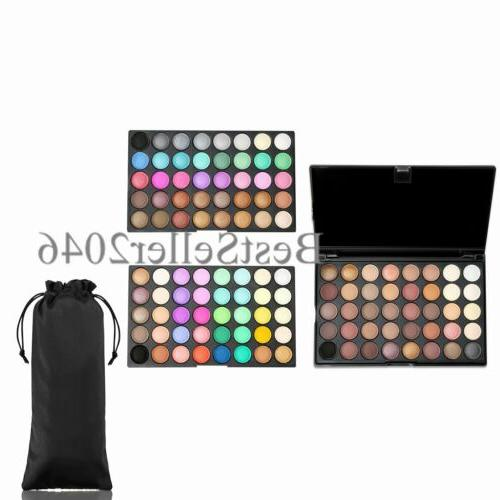 pro 120 colors eyeshadow matte shimmer eye