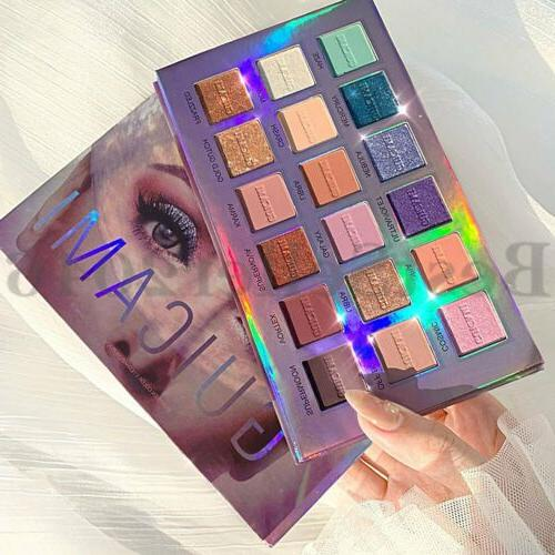 Pro 18 Colors Palette Pigmented Eye Makeup