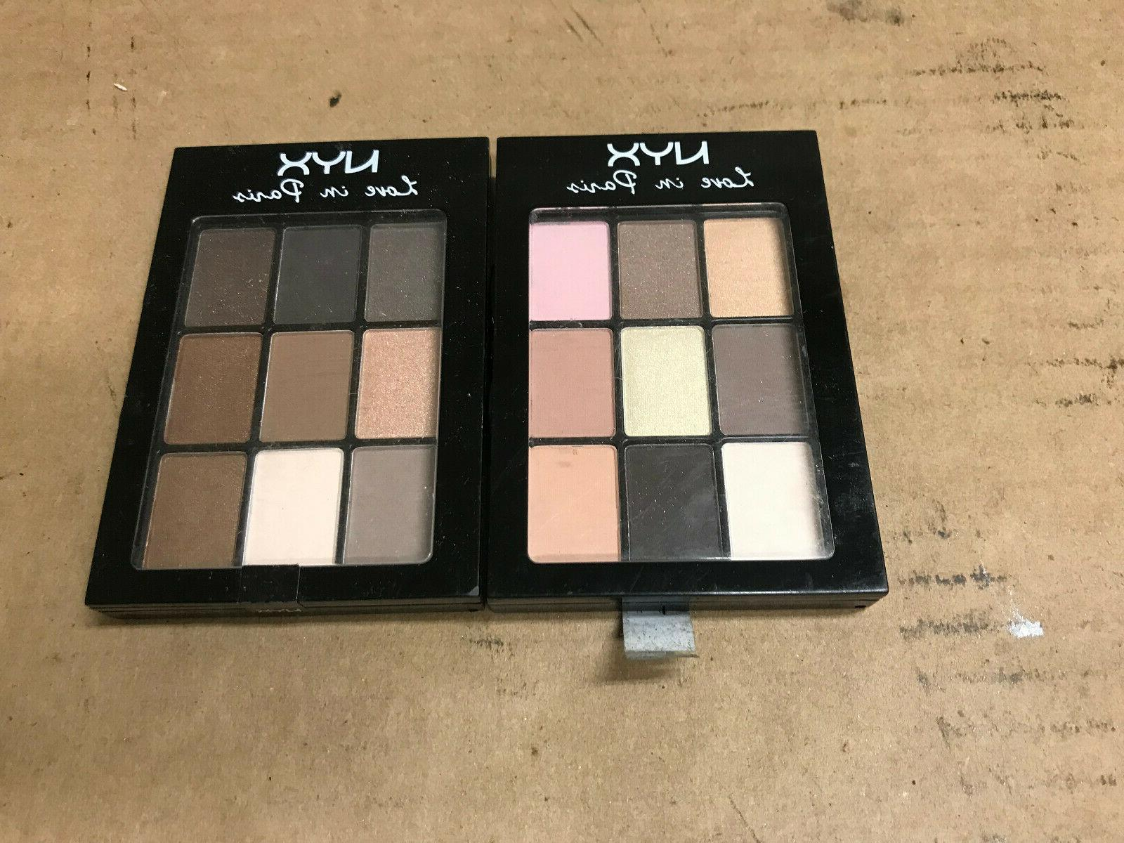 professional makeup love in paris eyeshadow palette
