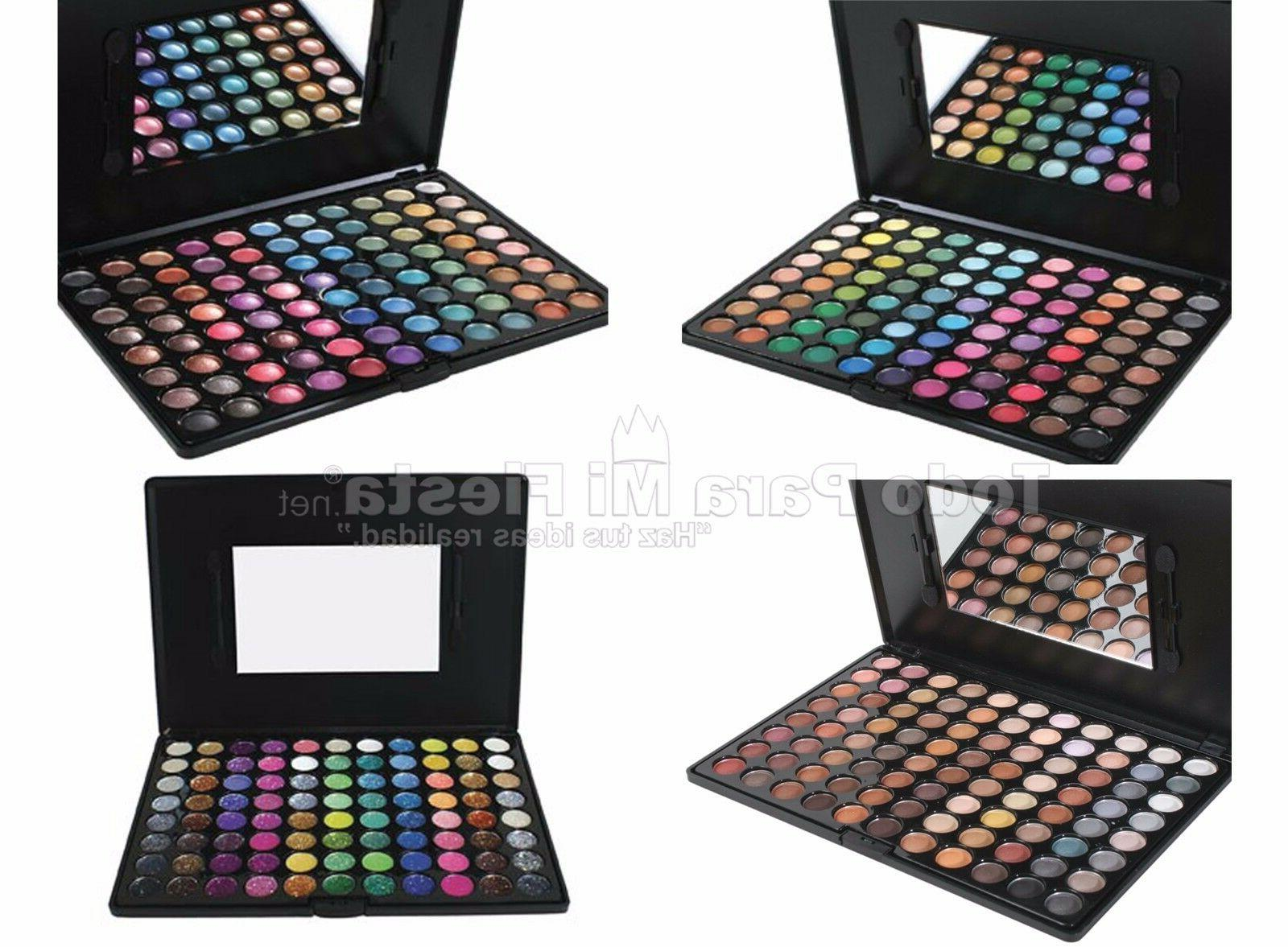 professional palette shimmer glitter warm cool tone