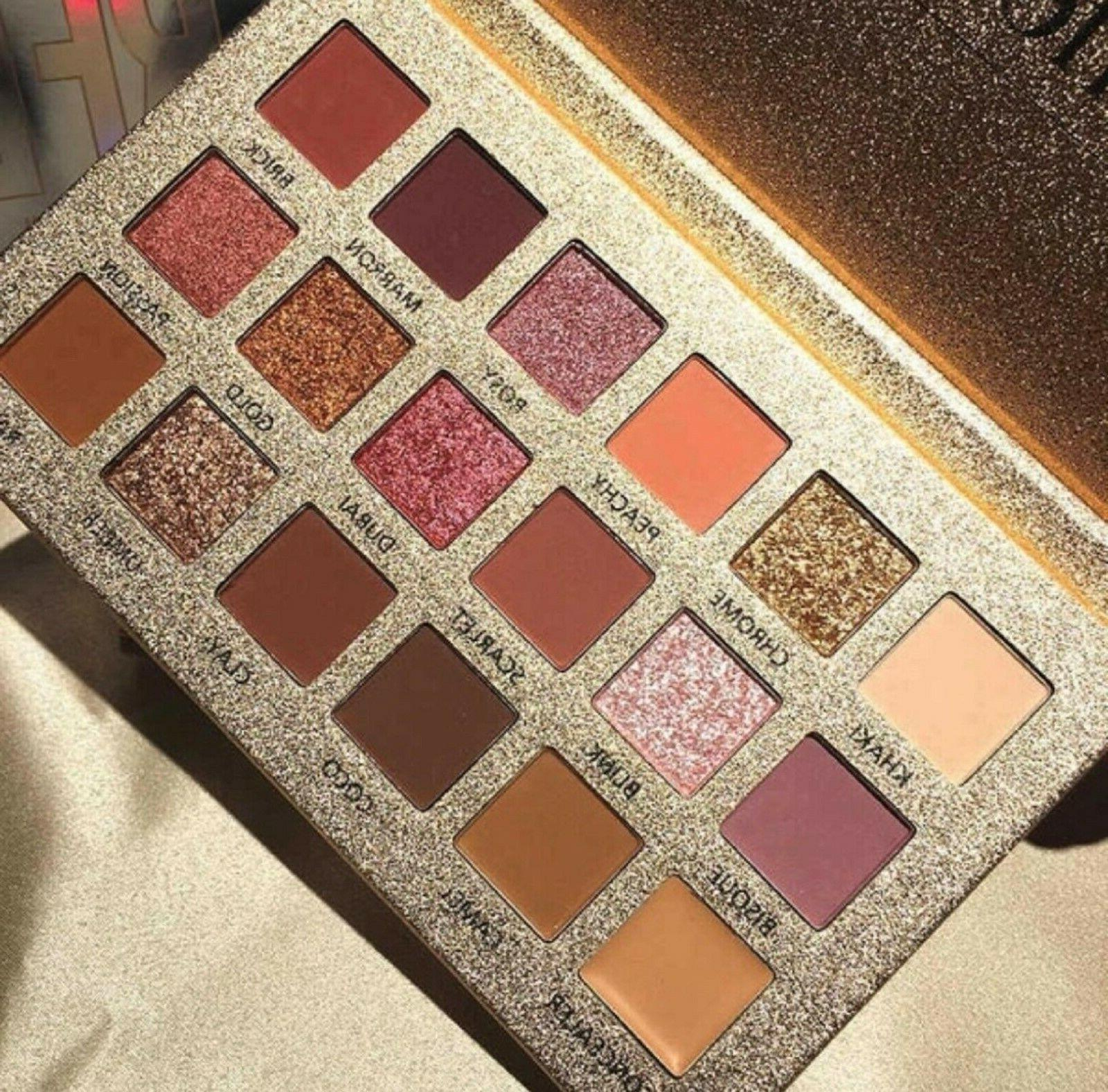 Professional Eyeshadow Pigmented Mineral Glitter Makeup