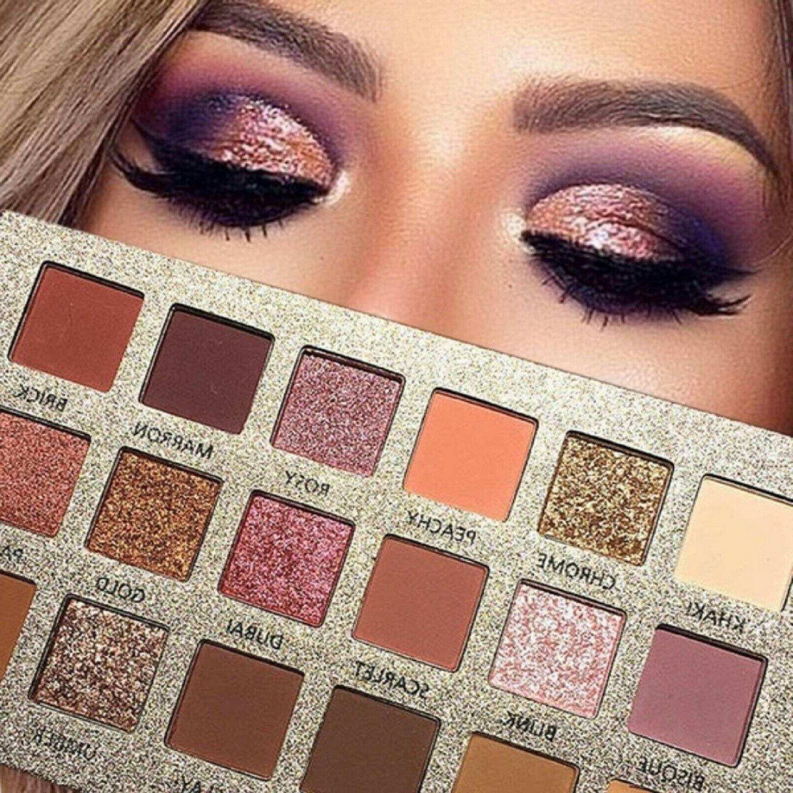 professional palette ultra pigmented mineral pressed glitter