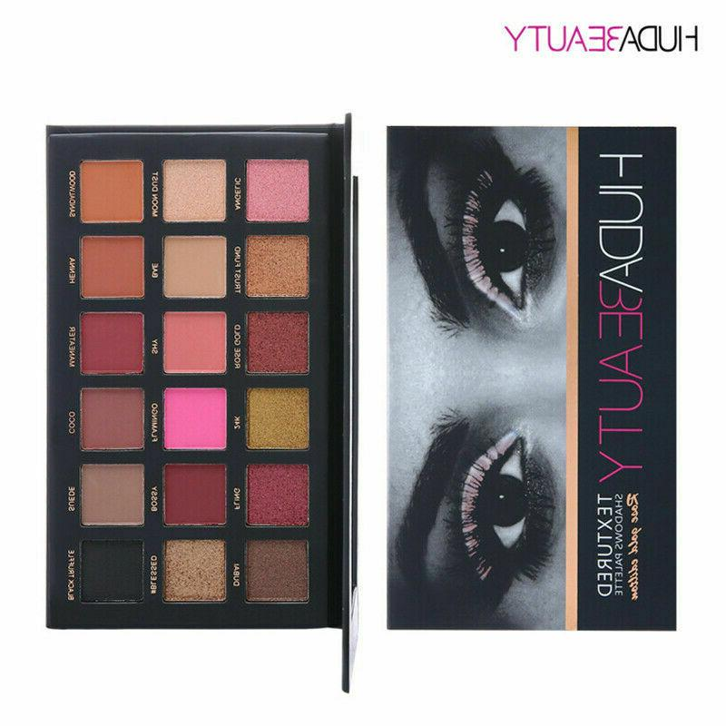 HUDA Beauty Edition Textured Shadow Palette new