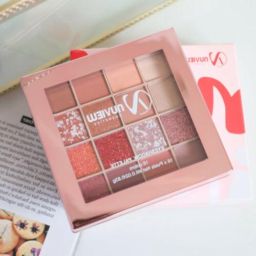 NUVIEW PRO Red Eyeshadow Palette