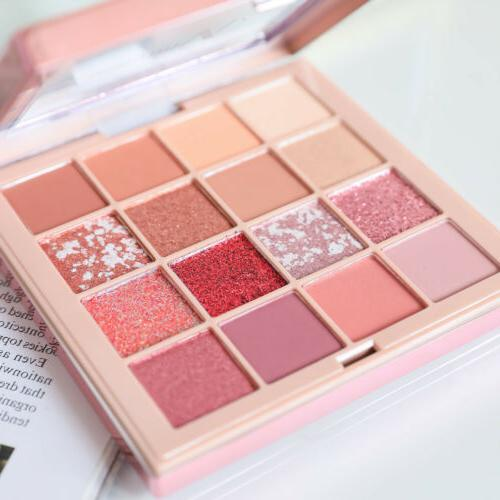 NUVIEW Rose Matte PRO NUDE Palette Makeup Colors