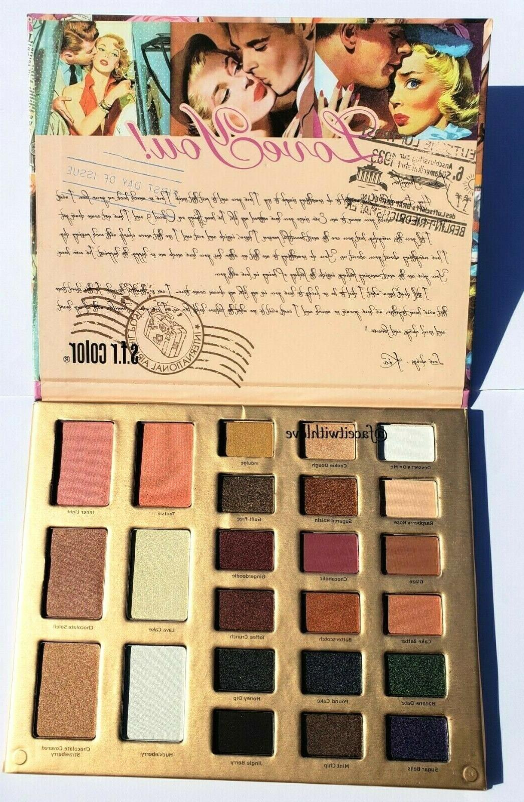 S.F.R. Vintage Professional Pigmented Palette NEW