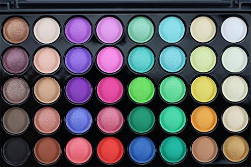 FantasyDay Pro Shimmer and Baked Eyeshadow Makeup - and Use