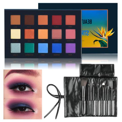 Beauty Glazed Strelitzia Colors Lasting Eyeshadow Palette Eye