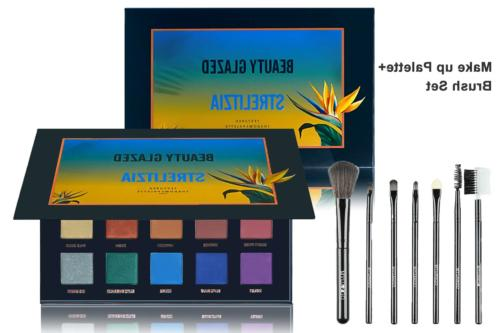 strelitzia 15 colors long lasting eyeshadow palette