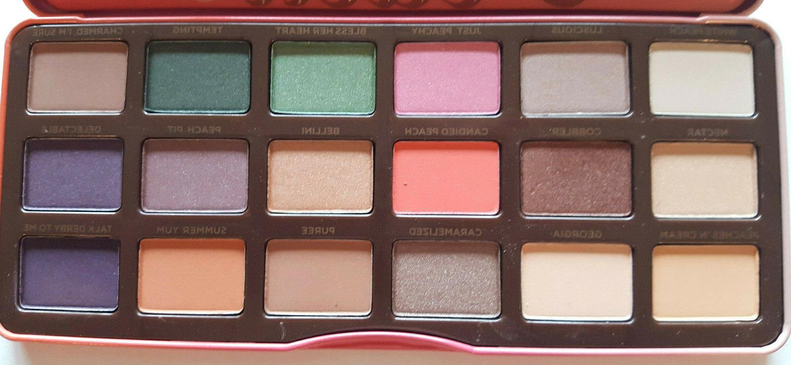 Too Eyeshadow Cosmetic 18 Shades fast