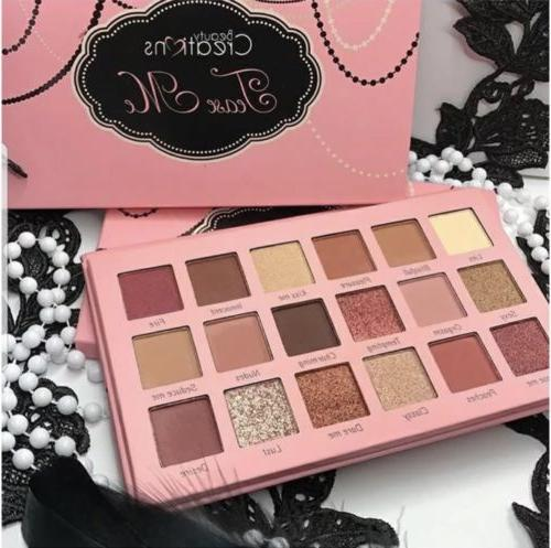 Tease Me Eyeshadow Palette Beauty Creations  , 18 colors Hig